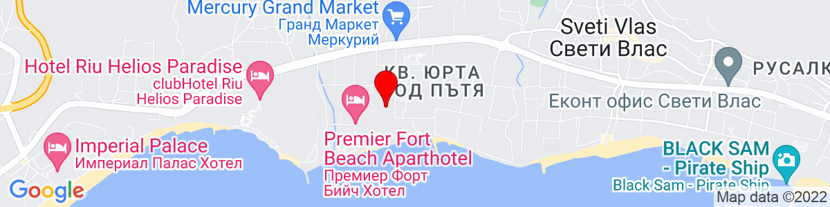 Google Map of 42.710387, 27.746763