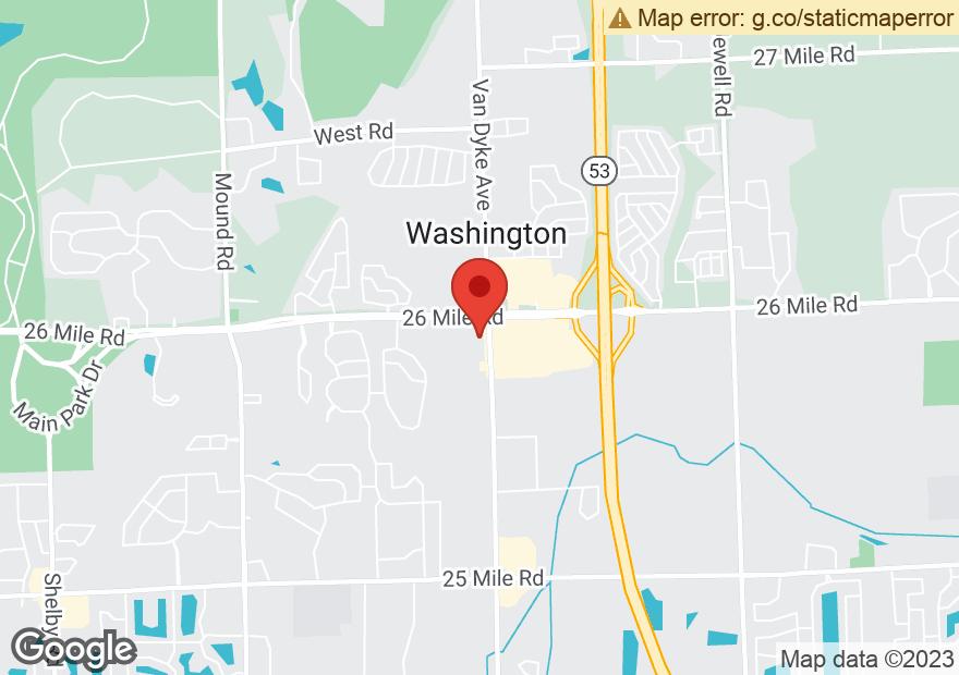 Google Map of 56805 VAN DYKE AVE