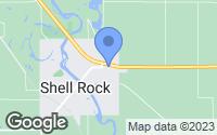 Map of Shell Rock, IA