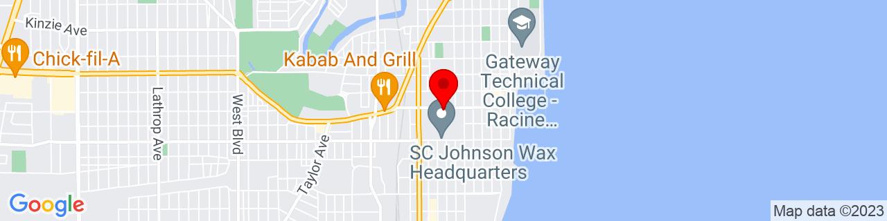 Google Map of 42.7152375, -87.7906969