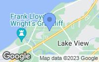 Map of Lake View, NY