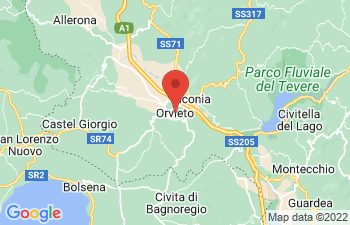 Map of Orvieto