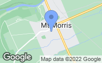 Map of Mount Morris, NY