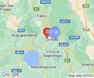 Karte für Altarocca Wine Resort
