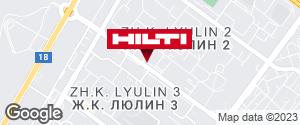 Get directions to Hilti магазин София (Люлин)