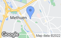 Map of Methuen, MA