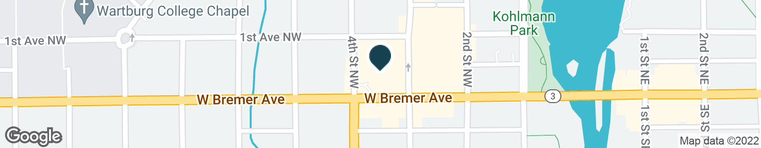 Google Map of320 W BREMER AVE