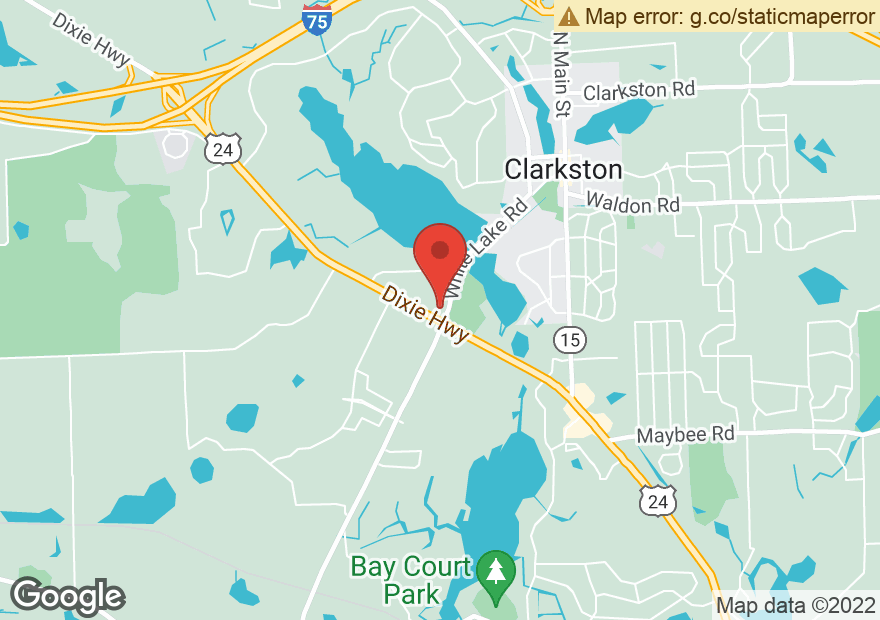 Google Map of 7110 DIXIE HWY