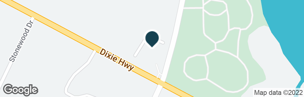Google Map of7110 DIXIE HWY