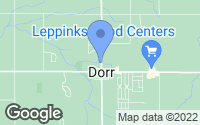 Map of Dorr, MI