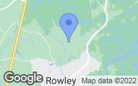 Map of Rowley, MA