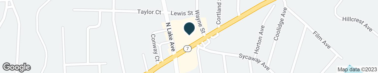 Google Map of549 HOOSICK ST