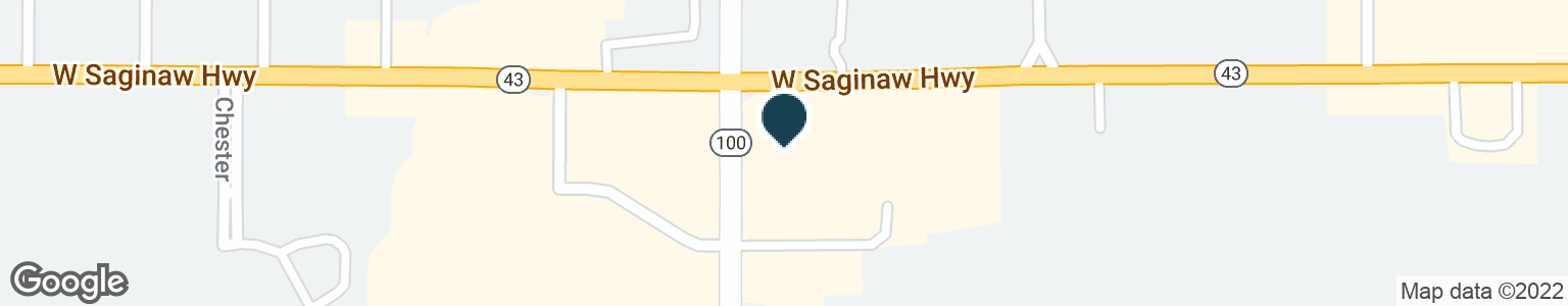 Google Map of812 E SAGINAW HWY