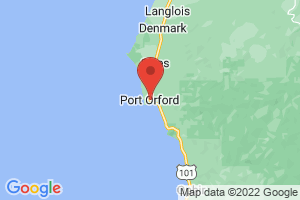 Map of Port Orford
