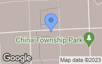 Map of China Township, MI