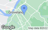 Map of Groveland, MA