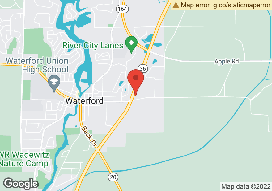 Google Map of 900 E MAIN ST