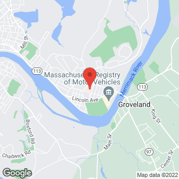 Map of David Goldberg, MD at 62 Brown Streetsuite 303, Haverhill, MA 01830