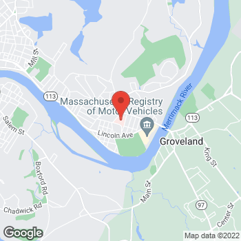 Map of Rabin Nouranifar, MD at 140 Lincoln Street, Haverhill, MA 01830