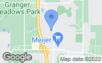 Map of East Lansing, MI