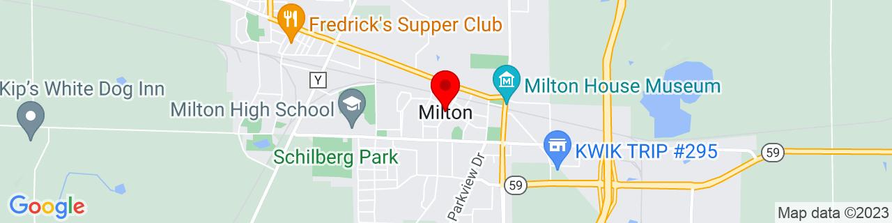 Google Map of 42.7755645, -88.94399899999999