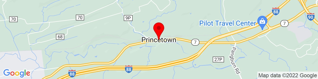 Google Map of 42.7789649, -74.06457089999999