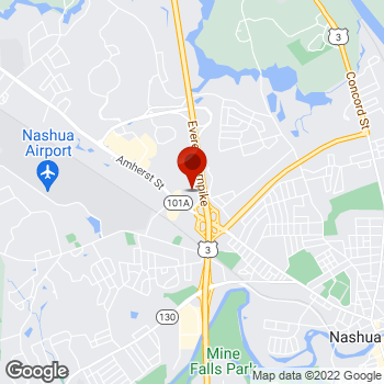 Map of Staples® Print & Marketing Services at 255 Amherst St, Nashua, NH 03063