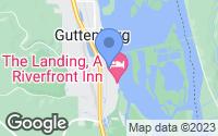 Map of Guttenberg, IA