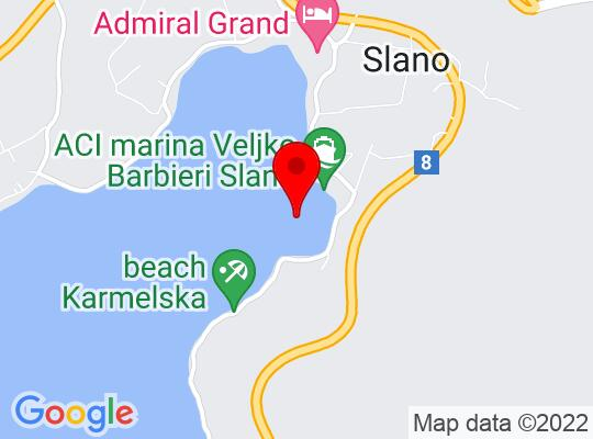 Google Map of Dubrovnik