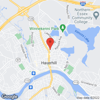 Map of Arvind Murthy, MD at 140 Lincoln Street, Haverhill, MA 01830