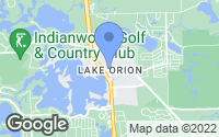 Map of Orion charter Township, MI