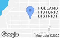 Map of Holland, MI