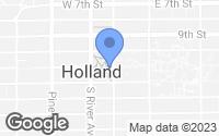 Map of Holland, MI