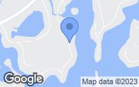 Map of Linden, MI
