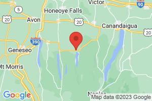 Map of Honeoye