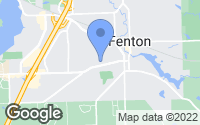 Map of Fenton, MI