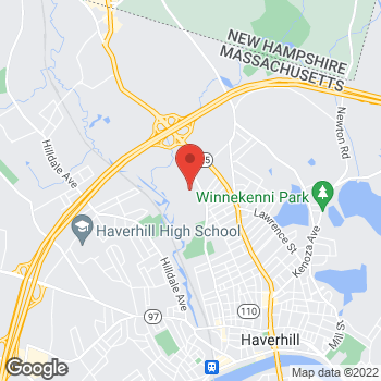 Map of Celeste Dunn, MD at 600 Primrose Street, Haverhill, MA 01830