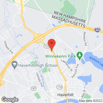 Map of Glenn Kimball, MD at 680 Main Street, Haverhill, MA 01830