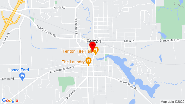Google Map of 150 S. Leroy Street, Fenton, MI 48430