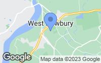 Map of West Newbury, MA