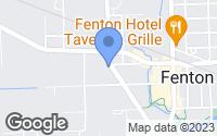 Map of Fenton, MI
