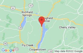 Map of Cooperstown