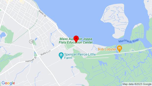 Google Map of 1 Plum Island Turnpike, Newburyport, MA 01950