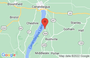 Map of Canandaigua