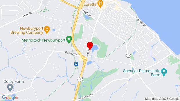 Google Map of 155 State Street, Newburyport, MA 01950