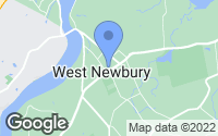 Map of West Newbury, MA