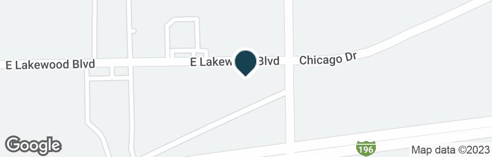 Google Map of11236 E LAKEWOOD BLVD