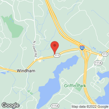 Map of Santander Bank ATM at 1 Wall St, Windham, NH 03087