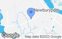 Map of Newburyport, MA