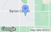 Map of Byron Center, MI